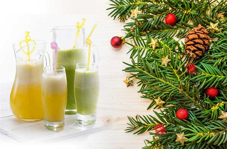 Uzdrawiające Przepisy na Soki na i po Świętach