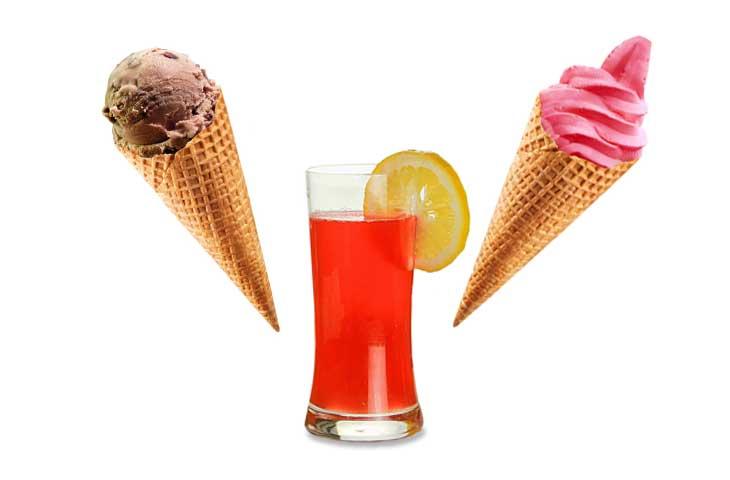 Trucizny w lodach i napojach