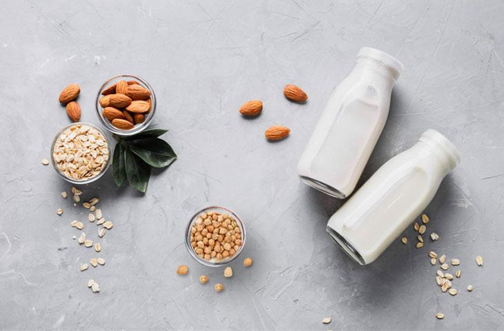 Nietolerancja laktozy. Mleko roślinne