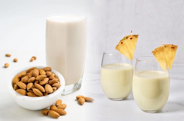 Mleka roślinne właściwościii